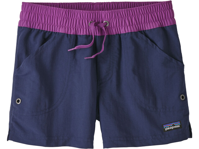 Patagonia Girls Costa Rica Baggies Shorts Classic Navy